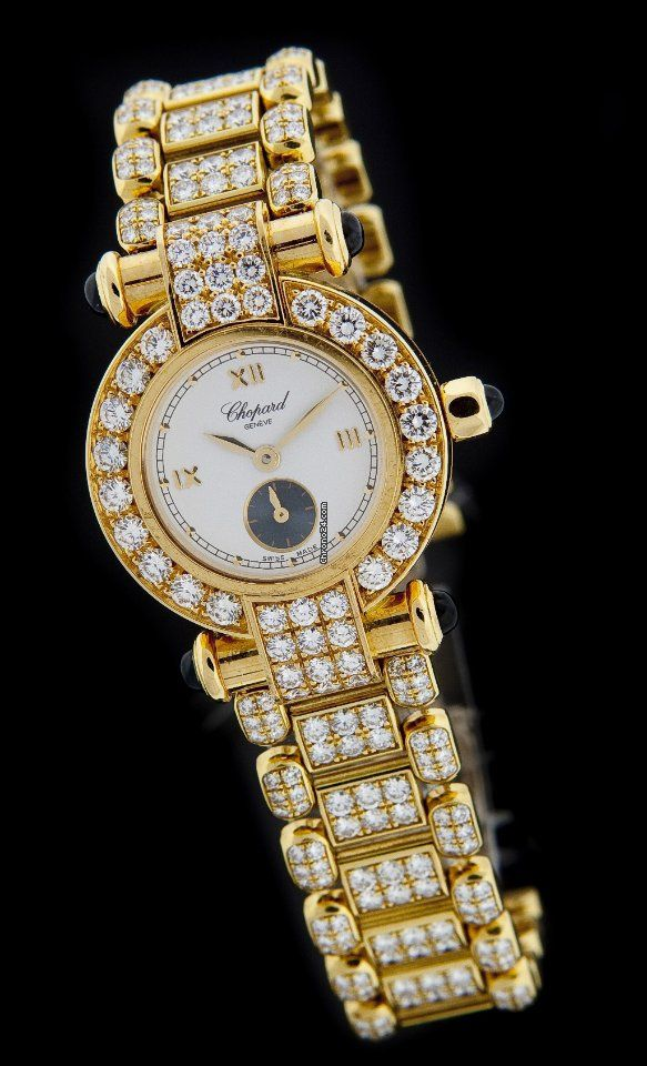 Chopard Yellow Gold IMPERIALE Diamond Watch 39/3212-23 $36,990