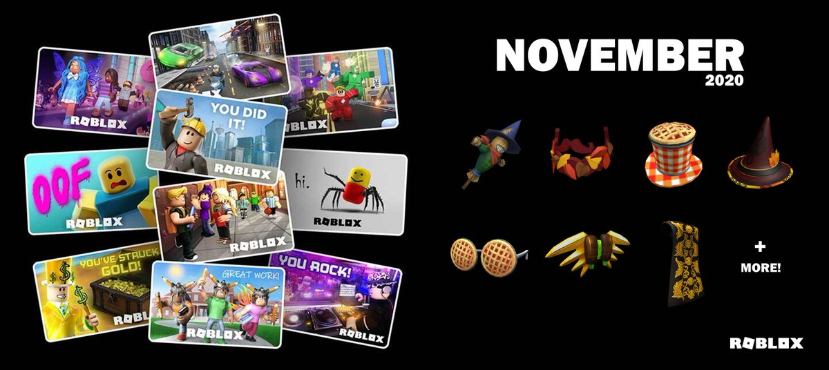 """Bloxy News on Twitter: """"The #Roblox Gift Card virtual items and"""