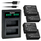 Kastar Battery LLD2 Charger for Leica BP-DC12 BC-DC12 Leica Q-P Digital Camera