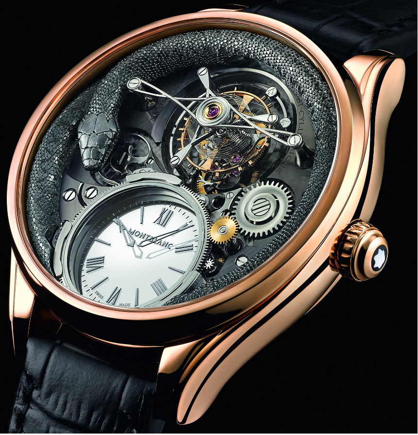 Montblanc Collection Villeret Tourbillon Bi-Cylindrique 110 Years