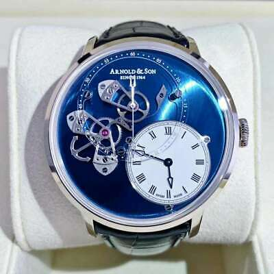 New Arnold & Son 1ATAW.L04A.C121W 18K White Gold 43.5mm Automatic Men's Watch