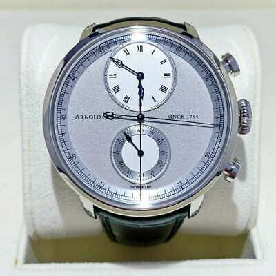 New Arnold & Son CTB 1CHAS.S02A.C121S Stainless Steel 44mm Automatic Men's Watch