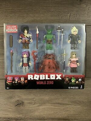 New! Roblox World Zero with 500 Robux Gift Card by Jazwares