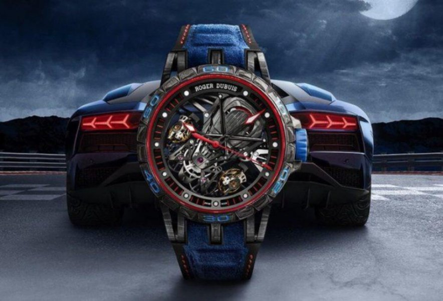Roger Dubuis Aventador S Blue Watch Review