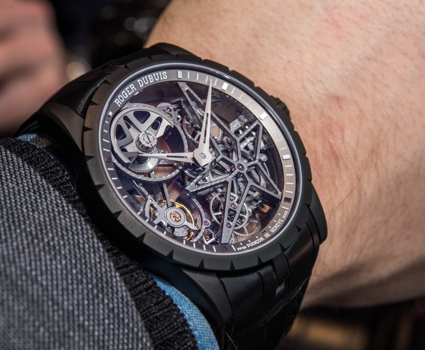 Roger Dubuis Excalibur 42 Automatic Skeleton Watch Hands-On