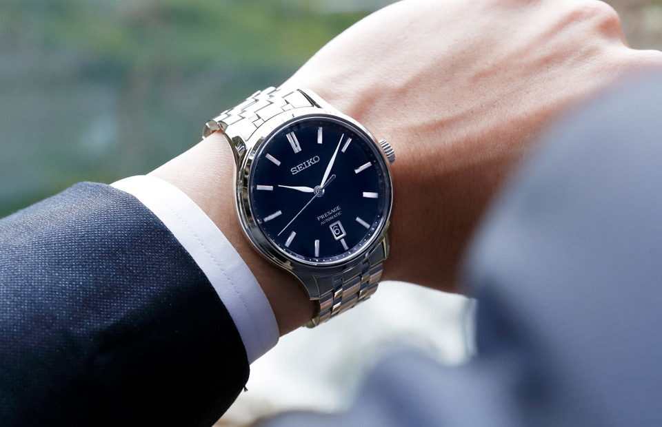 Score 50% Off Seiko's Almost Perfect Minimalist Men's Automatic Watch