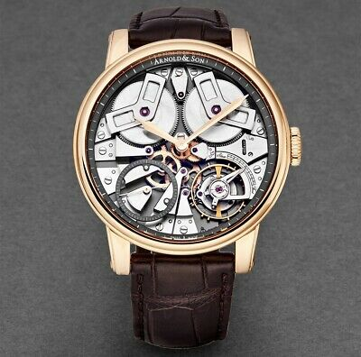ARNOLD & SON TB88 46mm 18k Rose Gold AUTOMATIC 1TBAP.SO1A.C113A