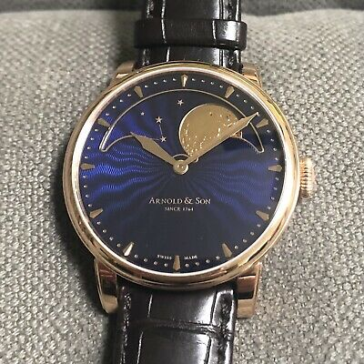 Arnold and Son HM Perpetual Moon Box Papers